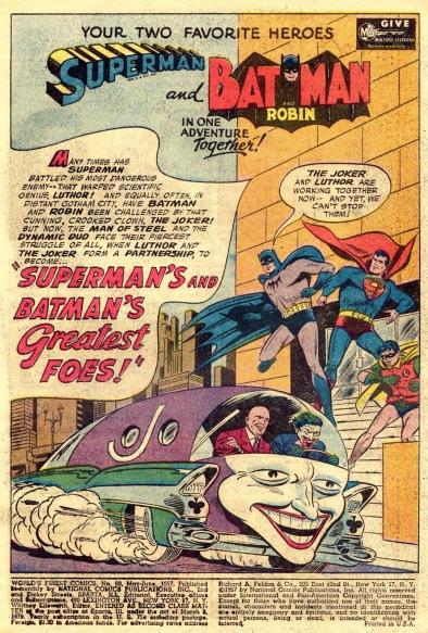 Coringa e Lex Luthor unem as forças: histórias infantis.