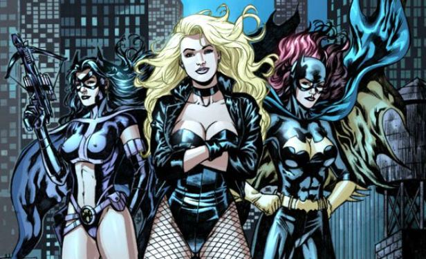 birds-of-prey-huntress-black-cannary-batgirl