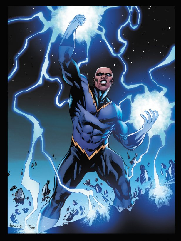 Raio Negro terá série de TV no Arrowverse.