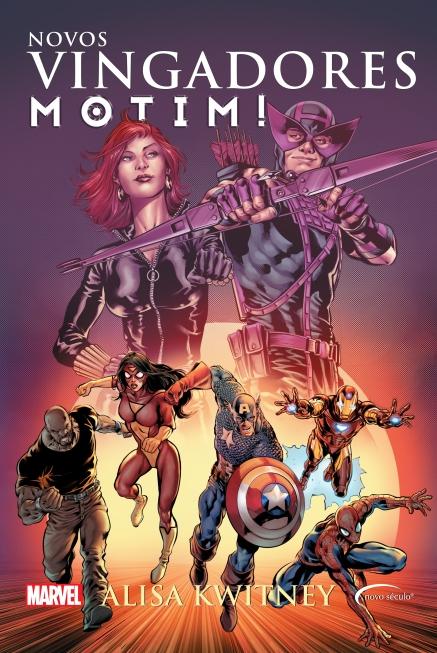 Motim: o novo livro da Novo Século com histórias da Marvel.