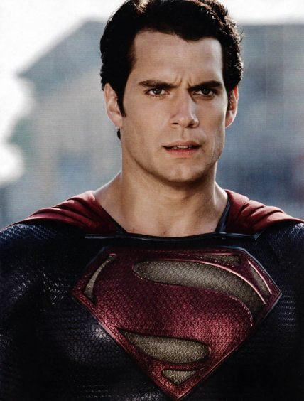 Henry Cavill como Superman: novo filme a caminho.