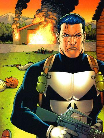 O Justiceiro é um dos trabalhos de assinatura de Steve Dillon.