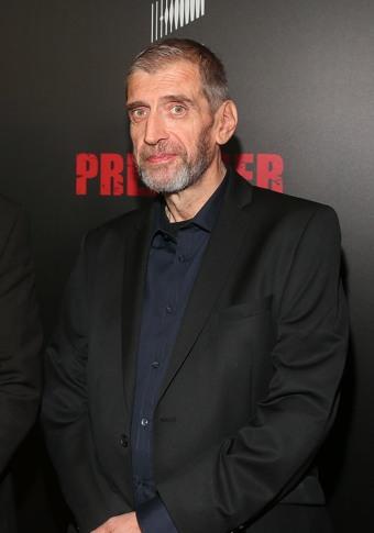 Steve Dillon no lançamento da série de TV de Preacher.