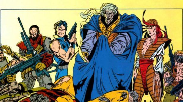 Pierce, Lady Letal e os Carniceiros nos quadrinhos. Arte de Marc Silvestri.