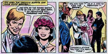 Ned e Betty se casam.