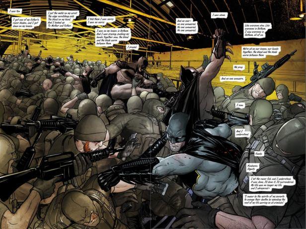 Batman em ação: novos elementos à origem.