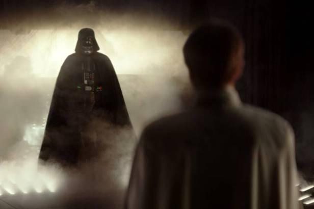 DArth Vader: participação pequena, mas marcante.