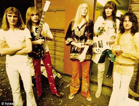 O Yes no início dos anos 1970, época de maior sucesso.
