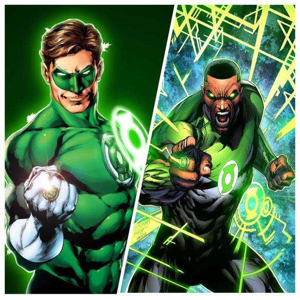 Hal Jordan e John Stewart estarão no filme.