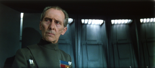O Tarkin de Peter Cushing foi reconstruído para Rogue One. Precedente.