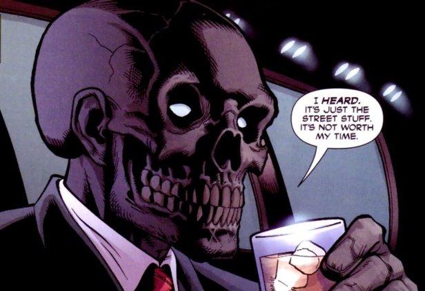 O Máscara Negra divulgado por David Ayer.