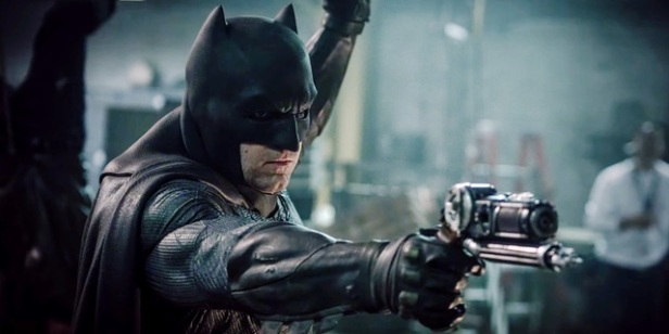 Ben Affleck como Batman. Nâo mais?