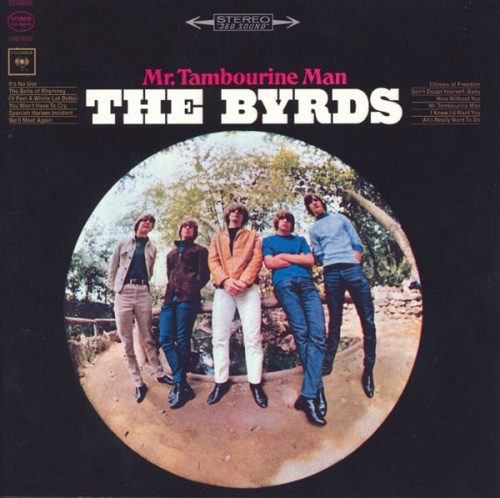 byrds 1965 mr tambourine man cover
