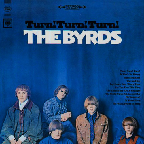 byrds 1965 turn turn turn cover
