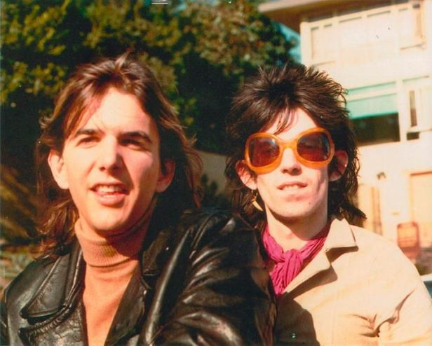 gram parsons and keith richards