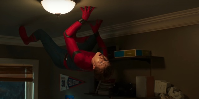 homecoming trailer peter in the ceiling