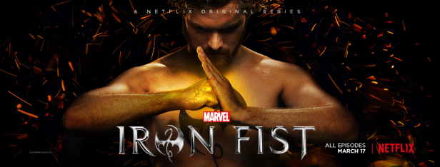 iron fist TV banner