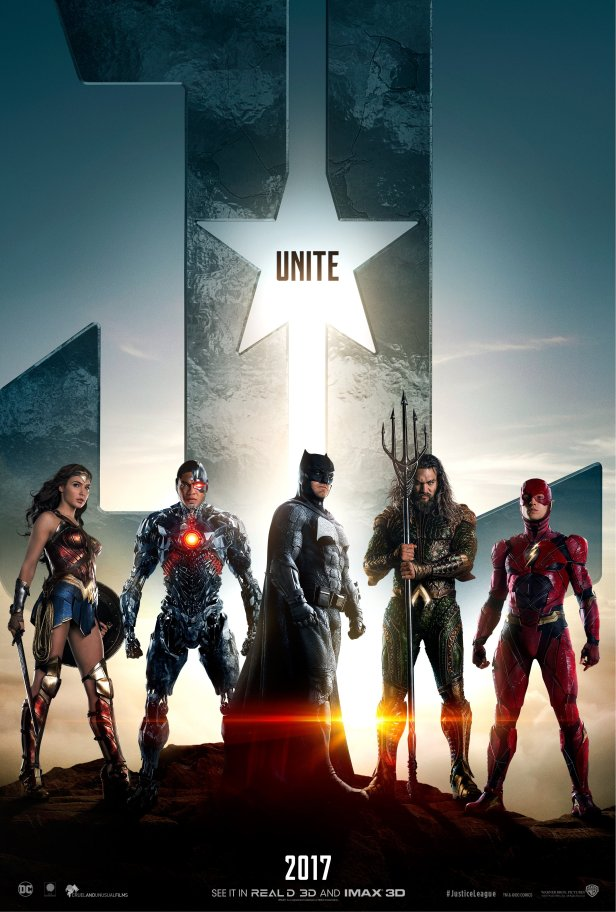 justiceleague movie first poster team 2