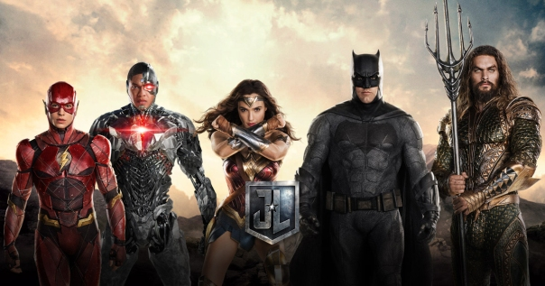 justiceleague movie second poster team