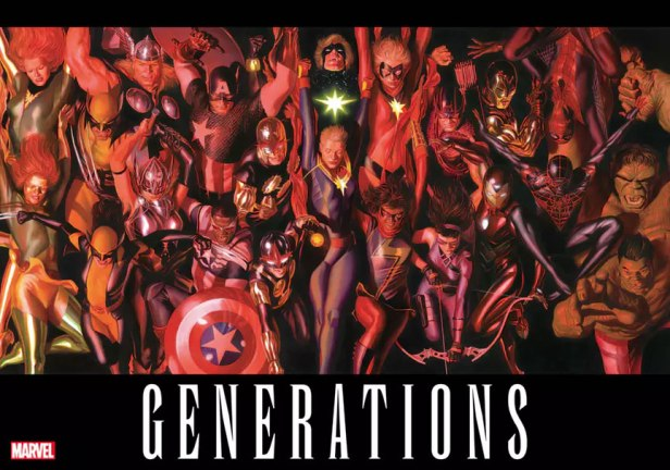 marvel-generations poster by alex ross