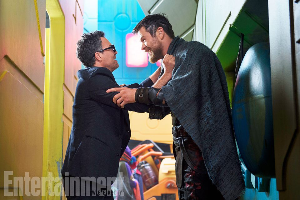thor ragnarok EW banner and thor meeting