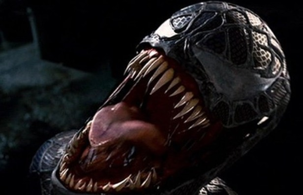 venom spider-man 3 movie head
