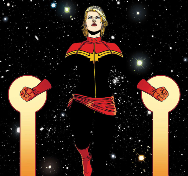 captain-marvel and the universe