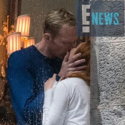 infinity war sets vision and scarlet witch kiss