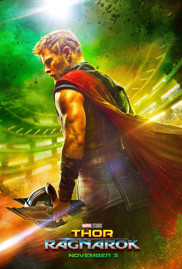 thor ragnarok official poster first