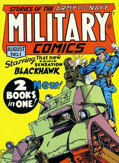 blackhawks Military_Comics_1