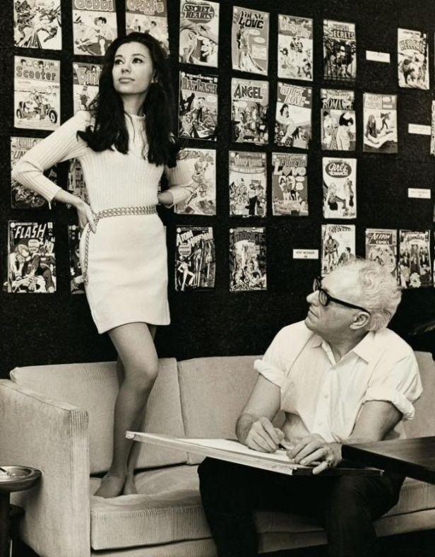 mike sekowsky and model joyce miller