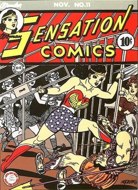 Sensation_Comics 11 cover