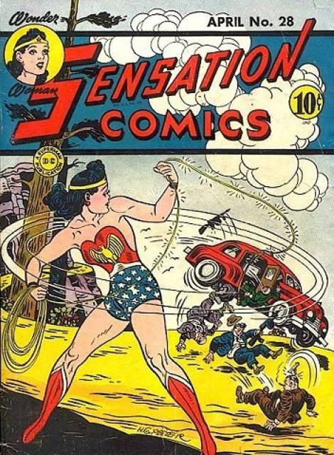 Sensation_Comics 28 cover