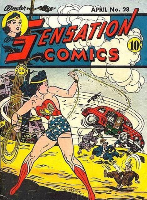 Sensation_Comics 28 cover