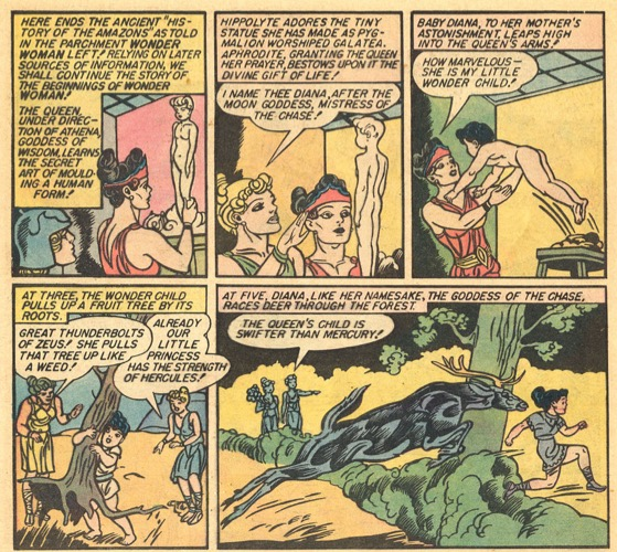 Wonder Woman 01 Clay Origin 1942