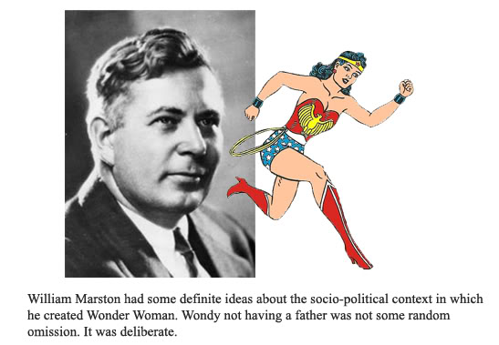 wonder woman and william marston