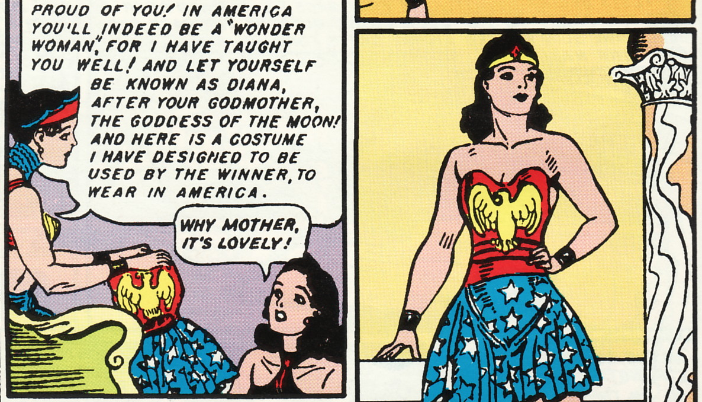 wonder-woman costume origin sensation comics