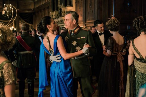wonder woman movie diana and gen ludendorff dancing