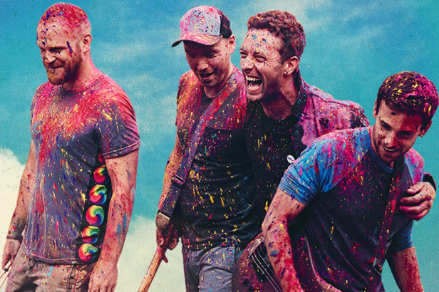 Coldplay full of colours
