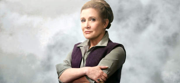 star wars the force awekens leia banner