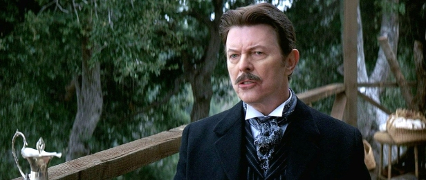 david bowie in the prestige tesla
