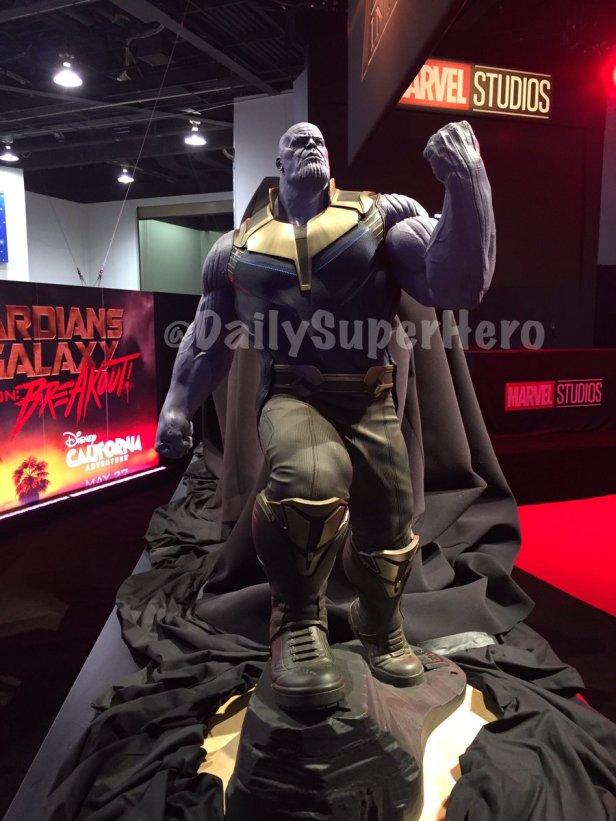 thanos statue disneyXD 2017