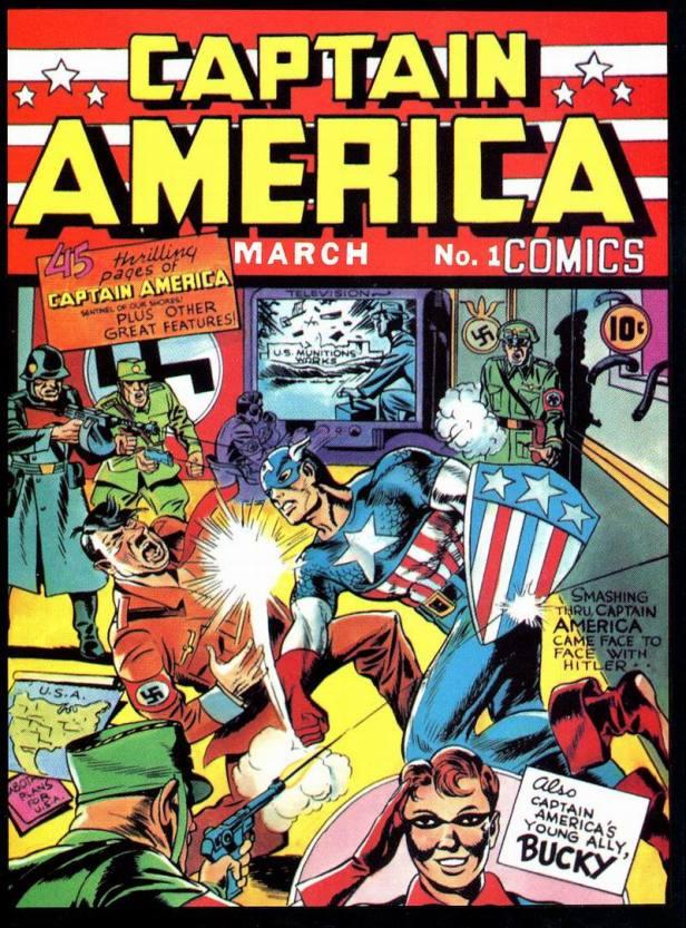 captain america comics 01 1941