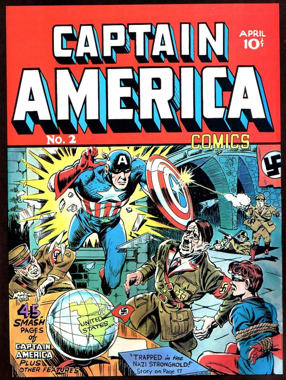 captain america comics 02 1941