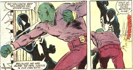 sin eater vs spider-man