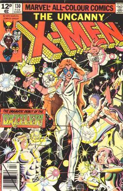 uncanny x-men 130 cover dazzler premier