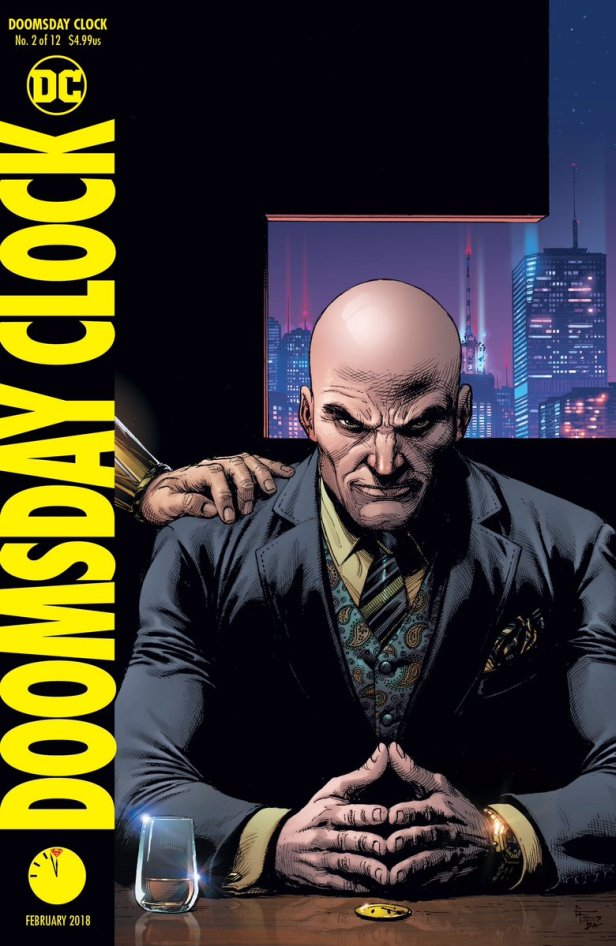 doomsday clock cover 2 (luthor)