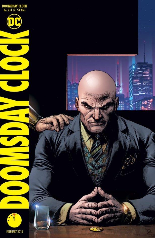 doomsday clock cover 2 (luthor)
