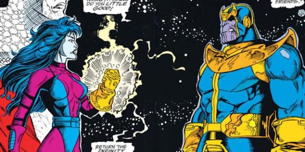 Nebula and thanos