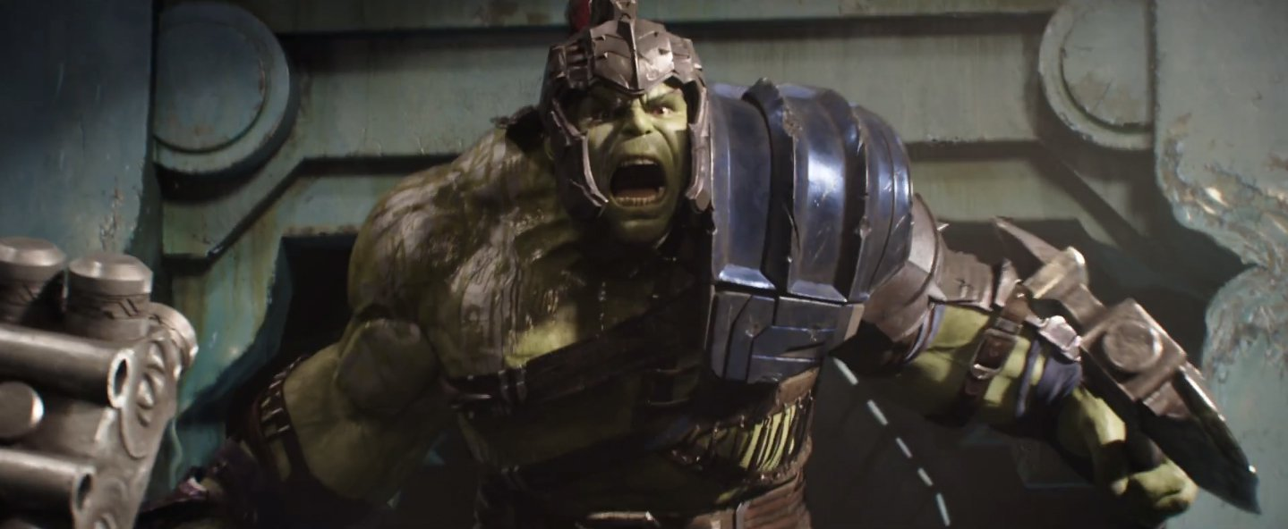 ragnarok hulk in action